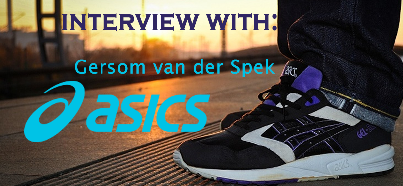 Interview with Gersom van der Spek – ASICS