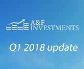 And when certain circumstances are met it will flourish like never before: A&F Investments First Quarter