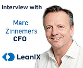 Interview with Marc Zinnemers – Chief Financial Officer (CFO) at LeanIX