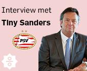 Van CEO van Campina tot PSV directeur: de carrière van Tiny Sanders